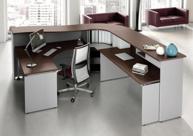 Reception Ufficio Bianco : Las reception arredo ufficio flex office srl