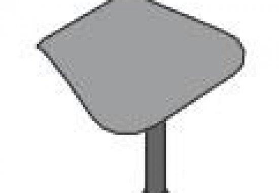Penisola complanare con struttura in metallo